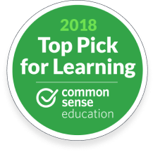 2018 Top Pick for Learning award